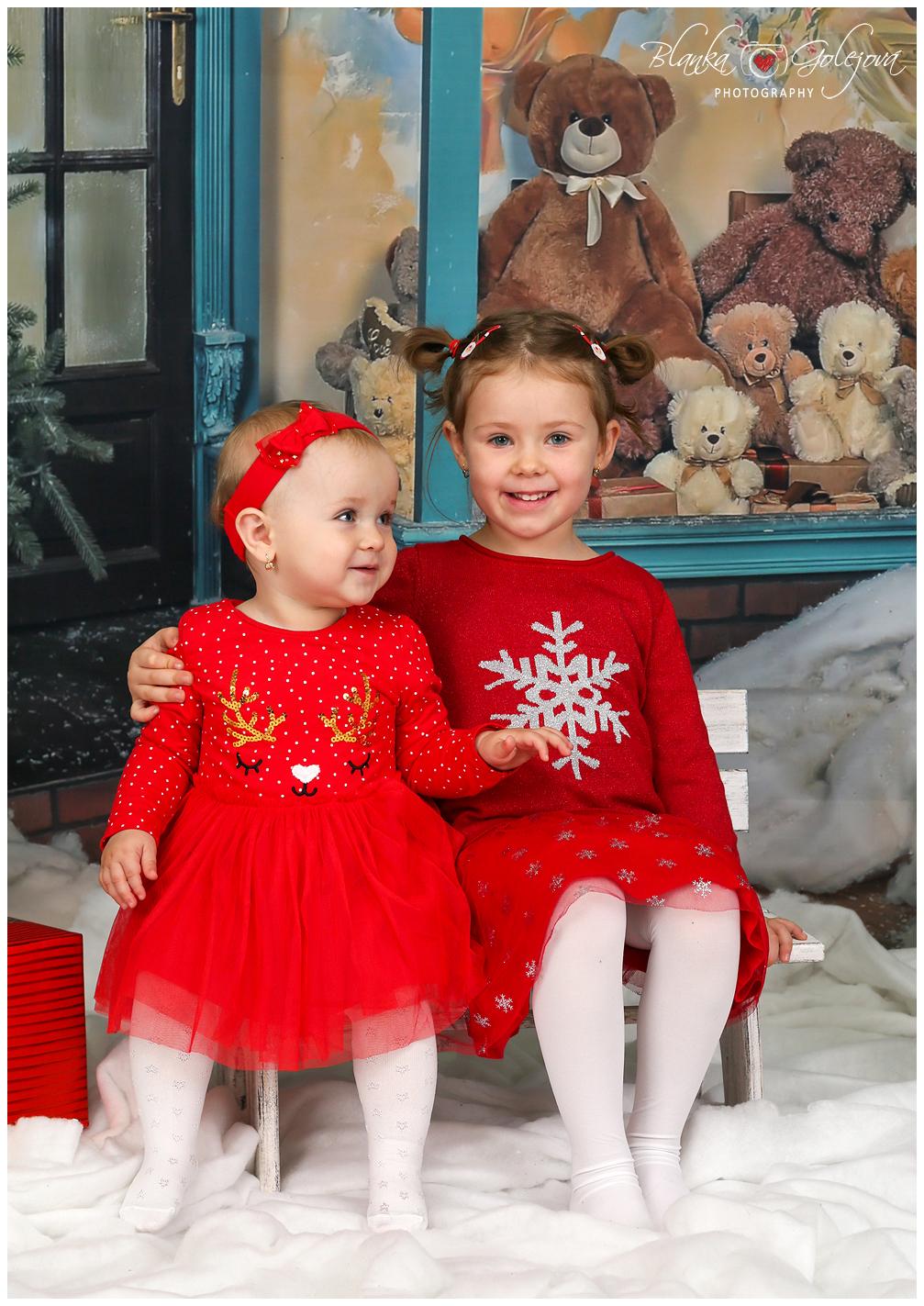 Vianocne fotky s detmi