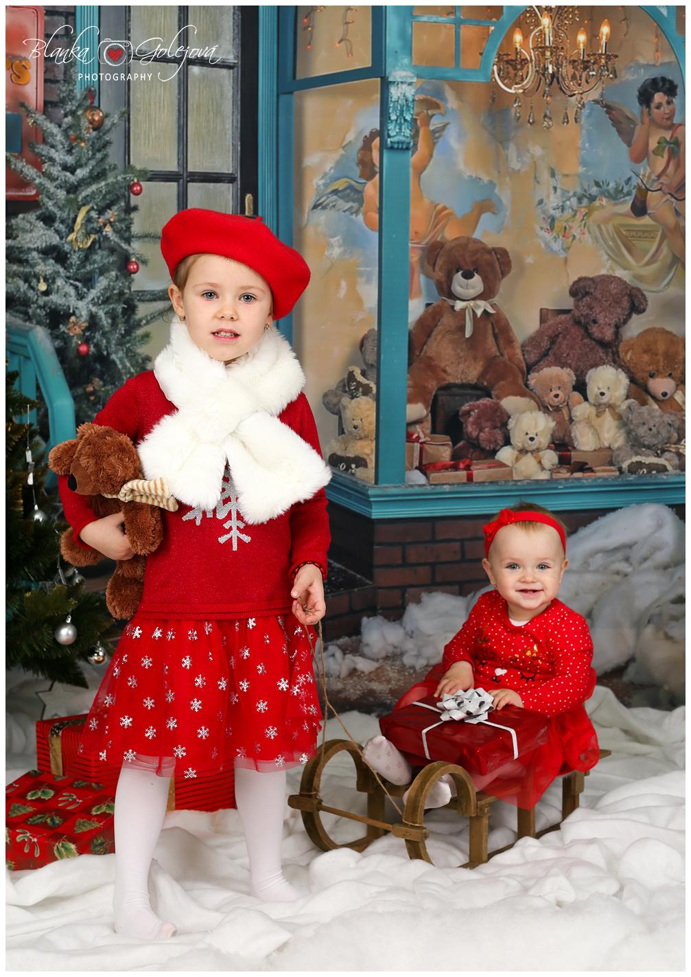 Vianocne fotografie s detmi