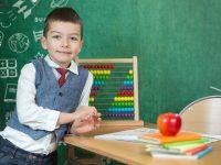 Skolske fotopozadia s tabulou