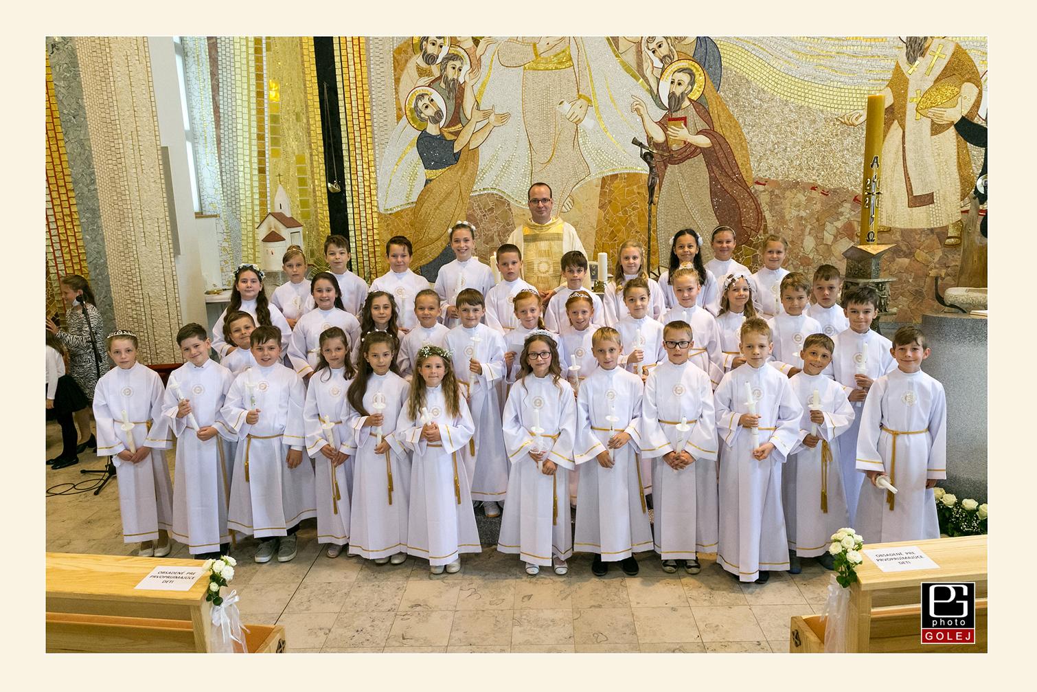Prvé sväté prijímanie Bratislava